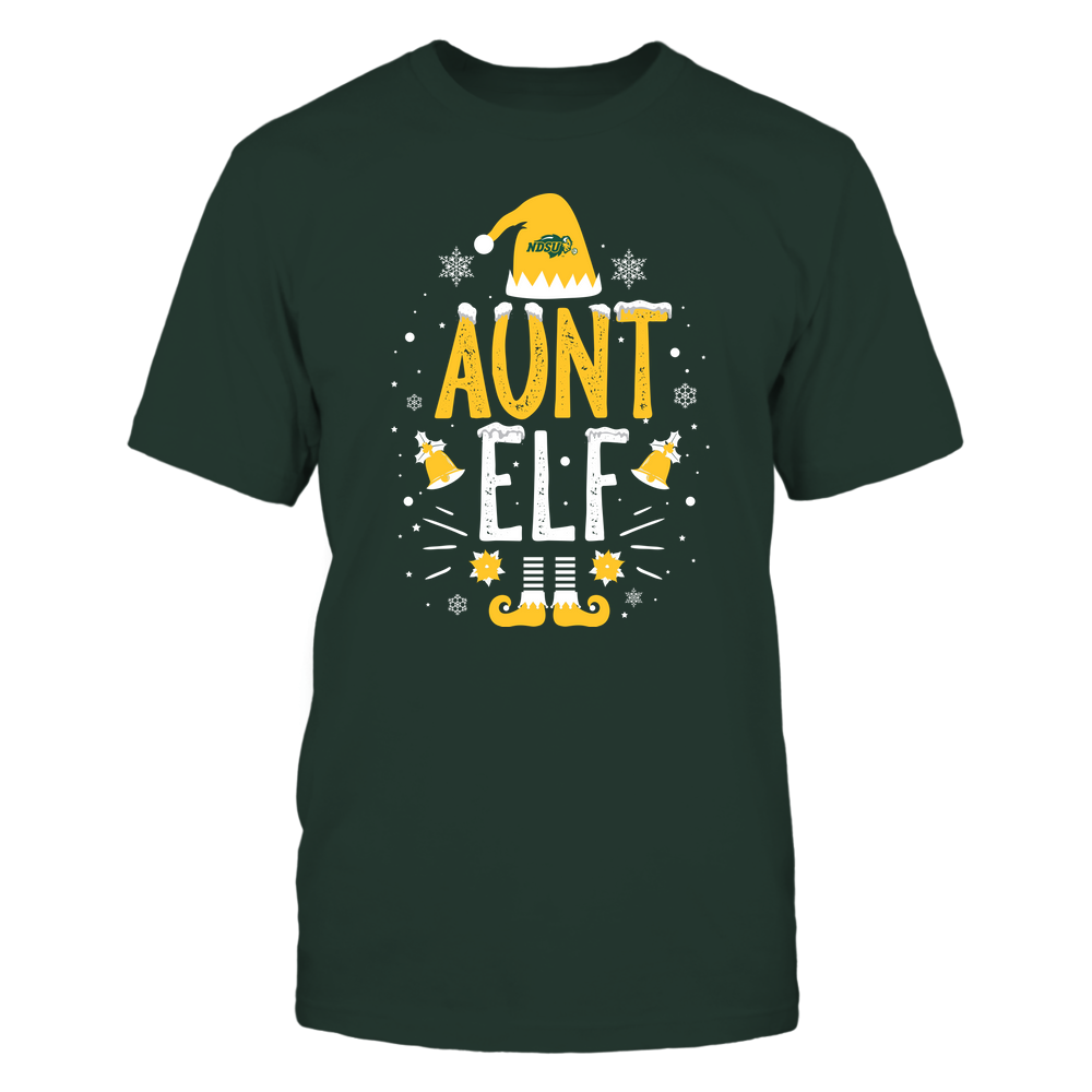North Dakota State Bison - Christmas - Aunt Elf - Team Front picture