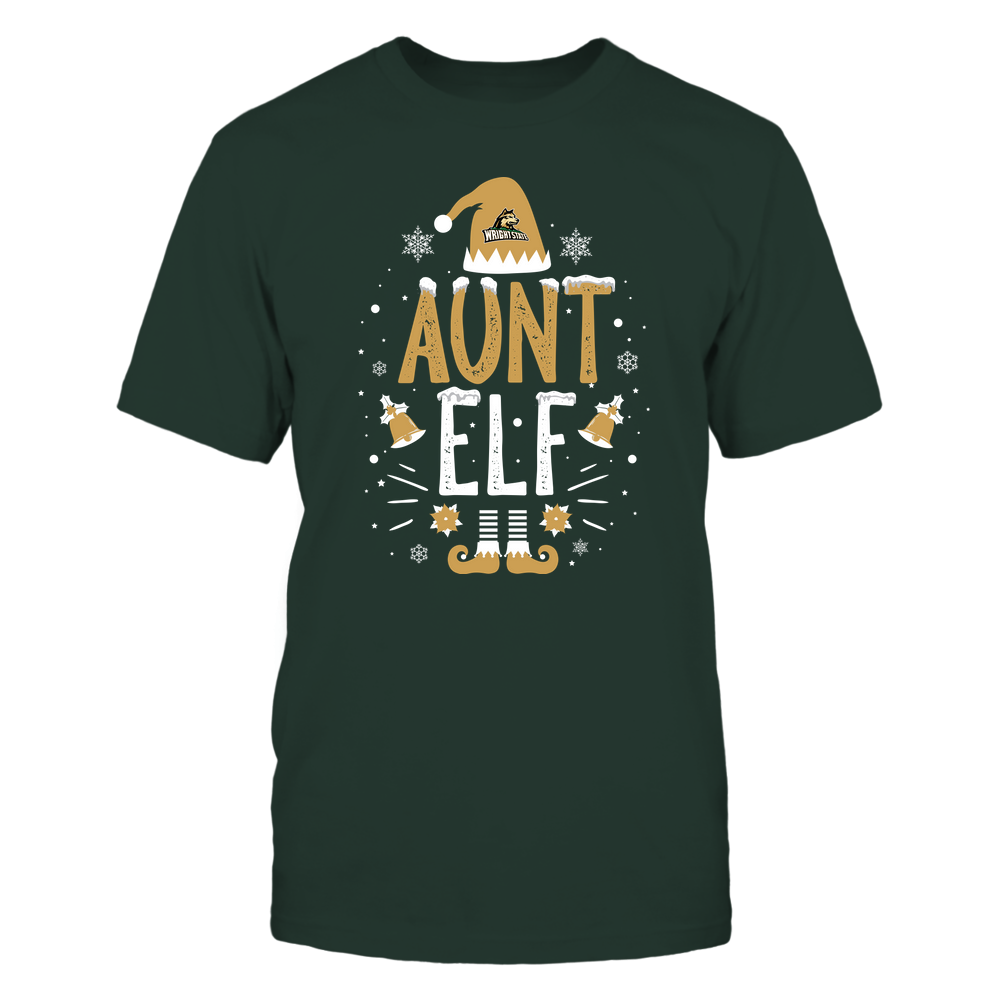 Wright State Raiders - Christmas - Aunt Elf - Team Front picture