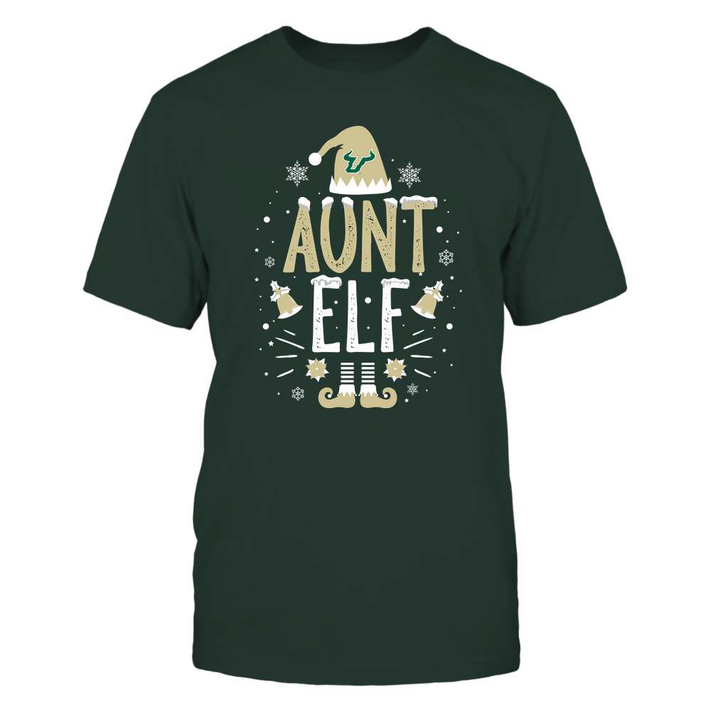 South Florida Bulls - Christmas - Aunt Elf - Team Front picture