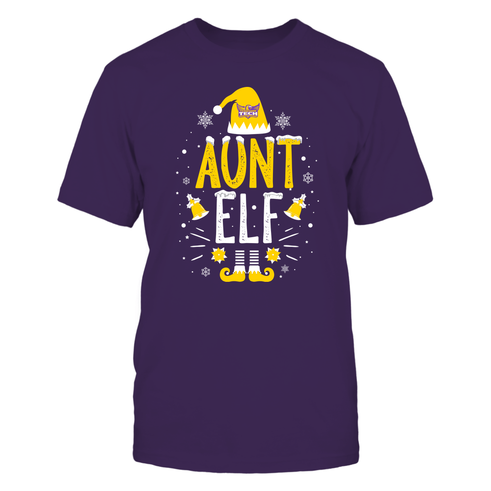 Tennessee Tech Golden Eagles - Christmas - Aunt Elf - Team Front picture