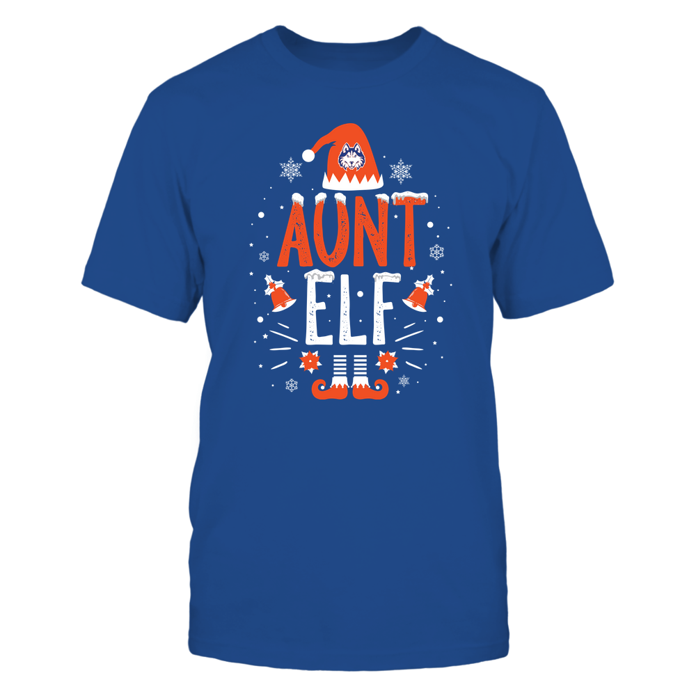 Houston Baptist Huskies - Christmas - Aunt Elf - Team Front picture