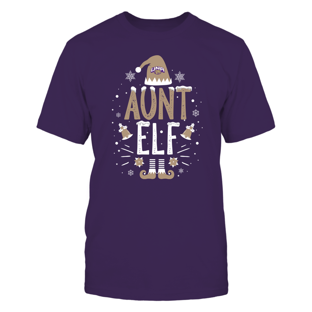 North Alabama Lions - Christmas - Aunt Elf - Team Front picture