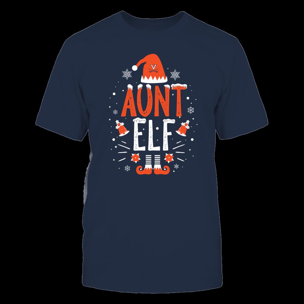 Virginia Cavaliers - Christmas - Aunt Elf - Team Front picture