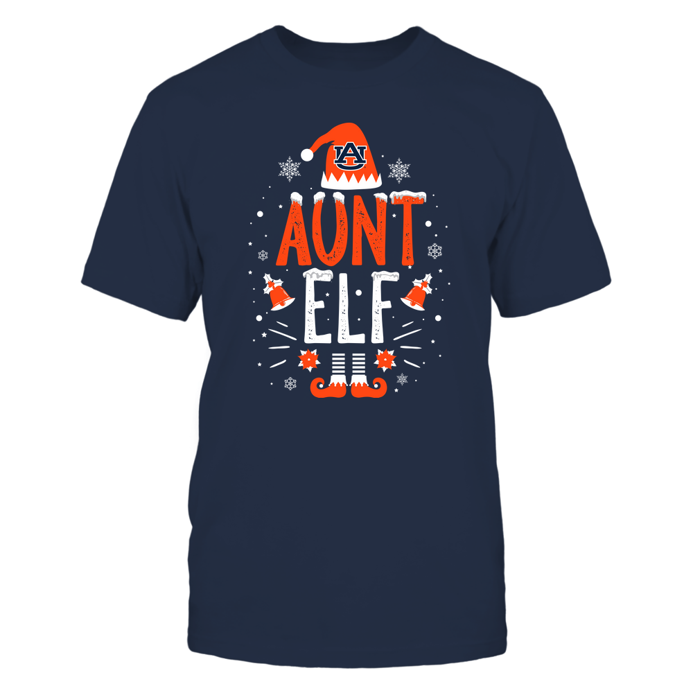 Auburn Tigers - Christmas - Aunt Elf - Team Front picture