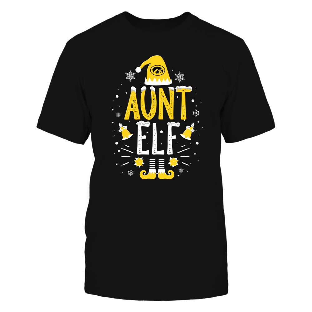 Iowa Hawkeyes - Christmas - Aunt Elf - Team Front picture