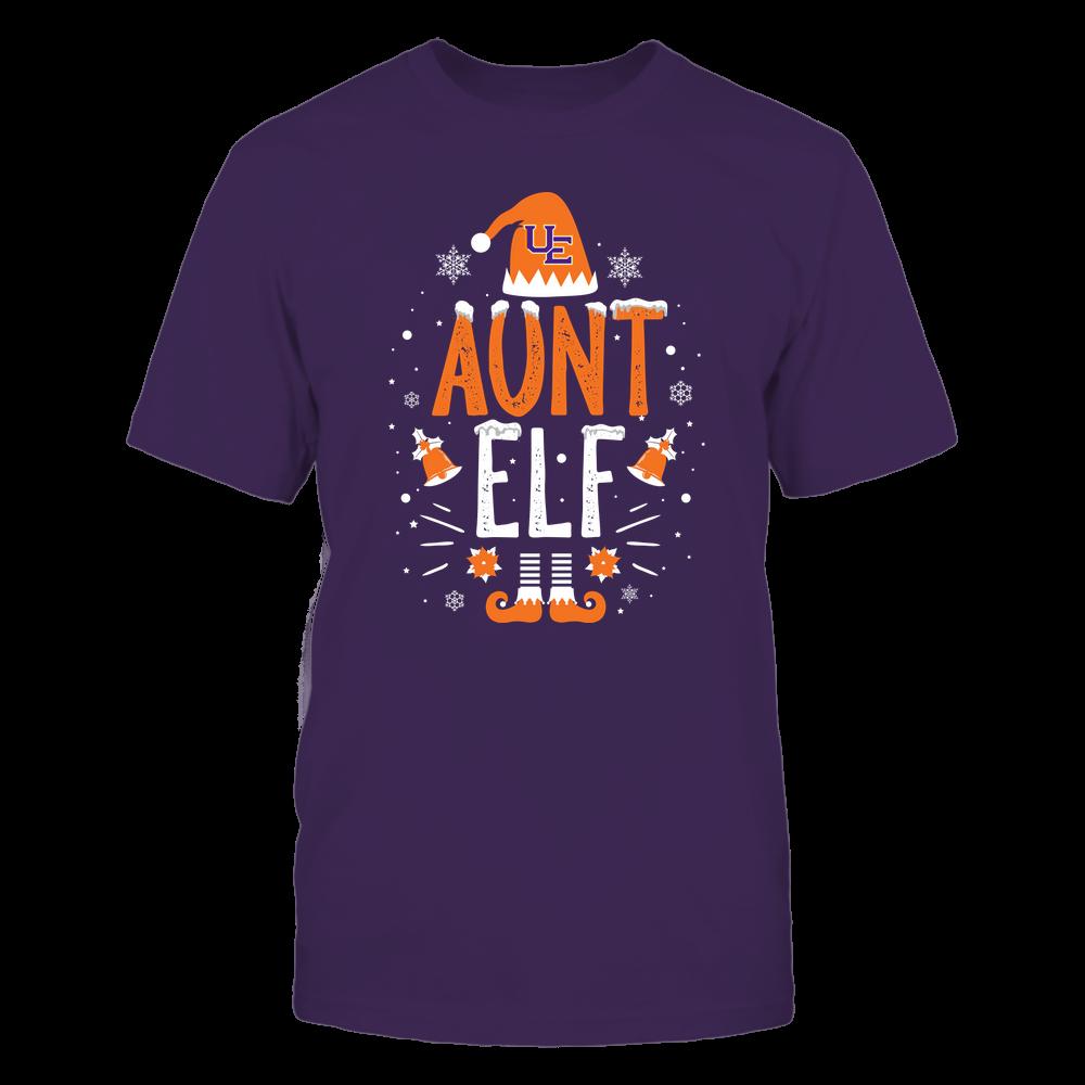 Evansville Purple Aces - Christmas - Aunt Elf - Team Front picture