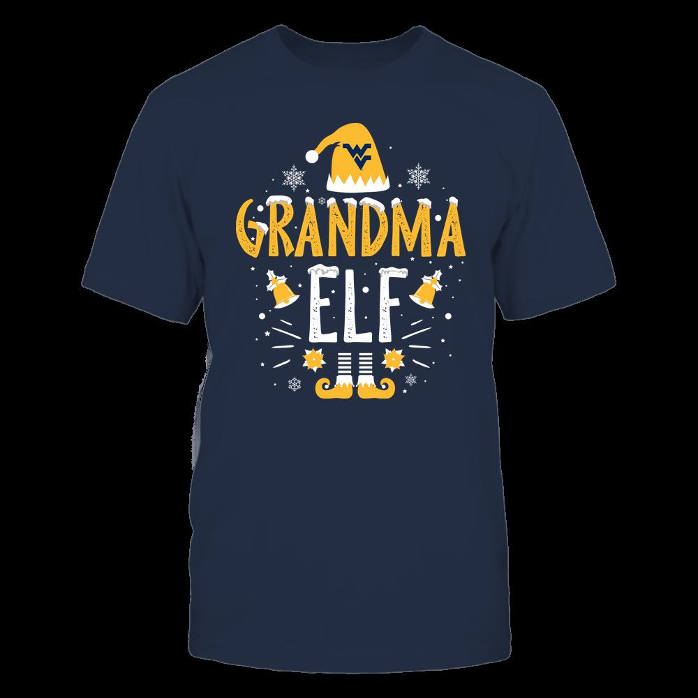 West Virginia Mountaineers - Christmas - Grandma Elf - Team Front picture