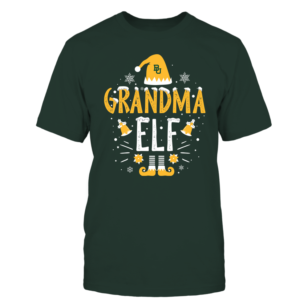 Baylor Bears - Christmas - Grandma Elf - Team Front picture
