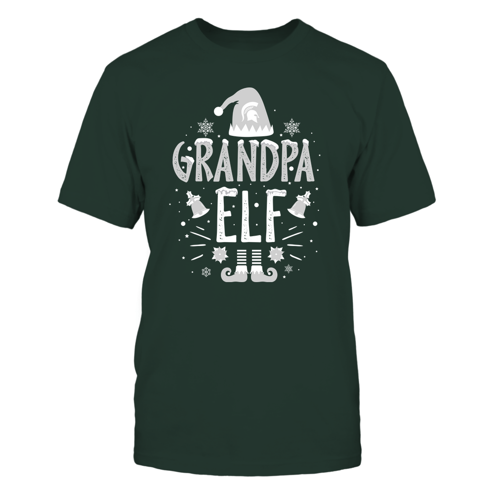 Michigan State Spartans - Christmas - Grandpa Elf - Team Front picture