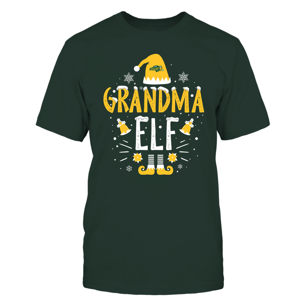North Dakota State Bison - Christmas - Grandma Elf - Team Front picture