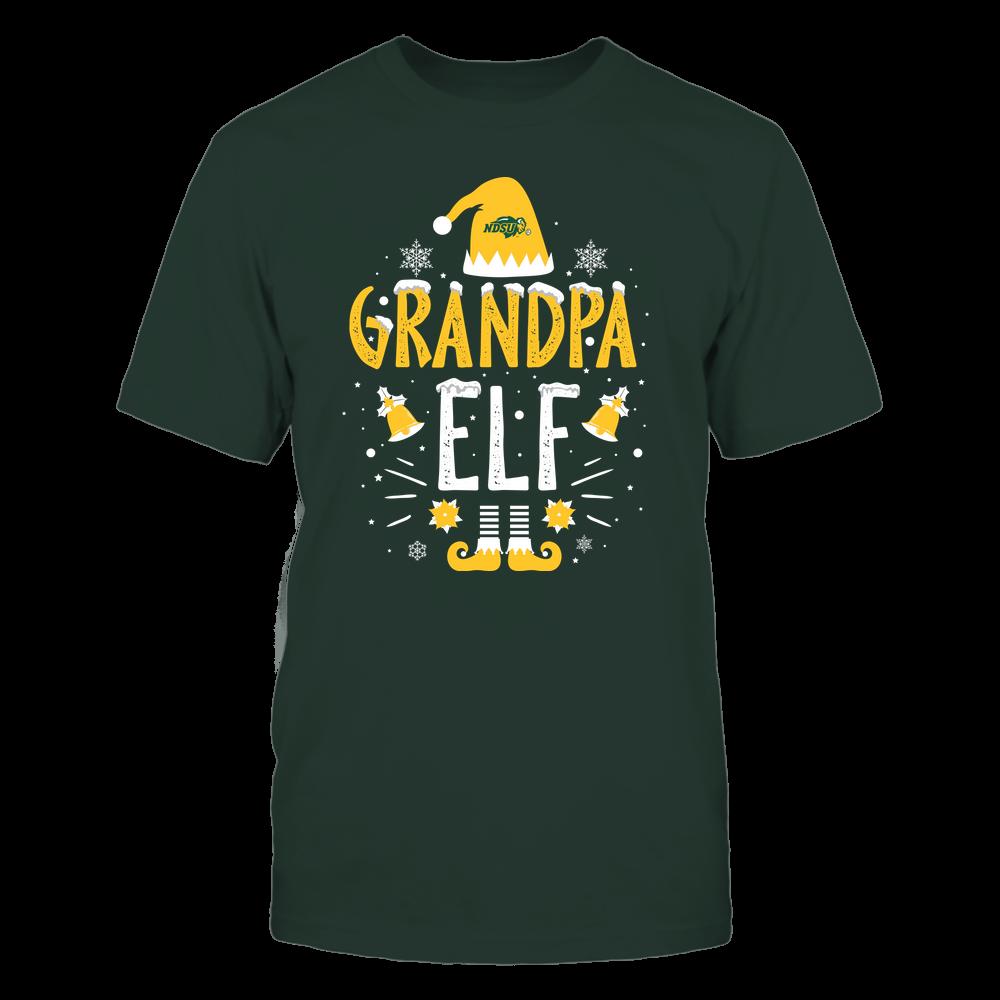North Dakota State Bison - Christmas - Grandpa Elf - Team Front picture