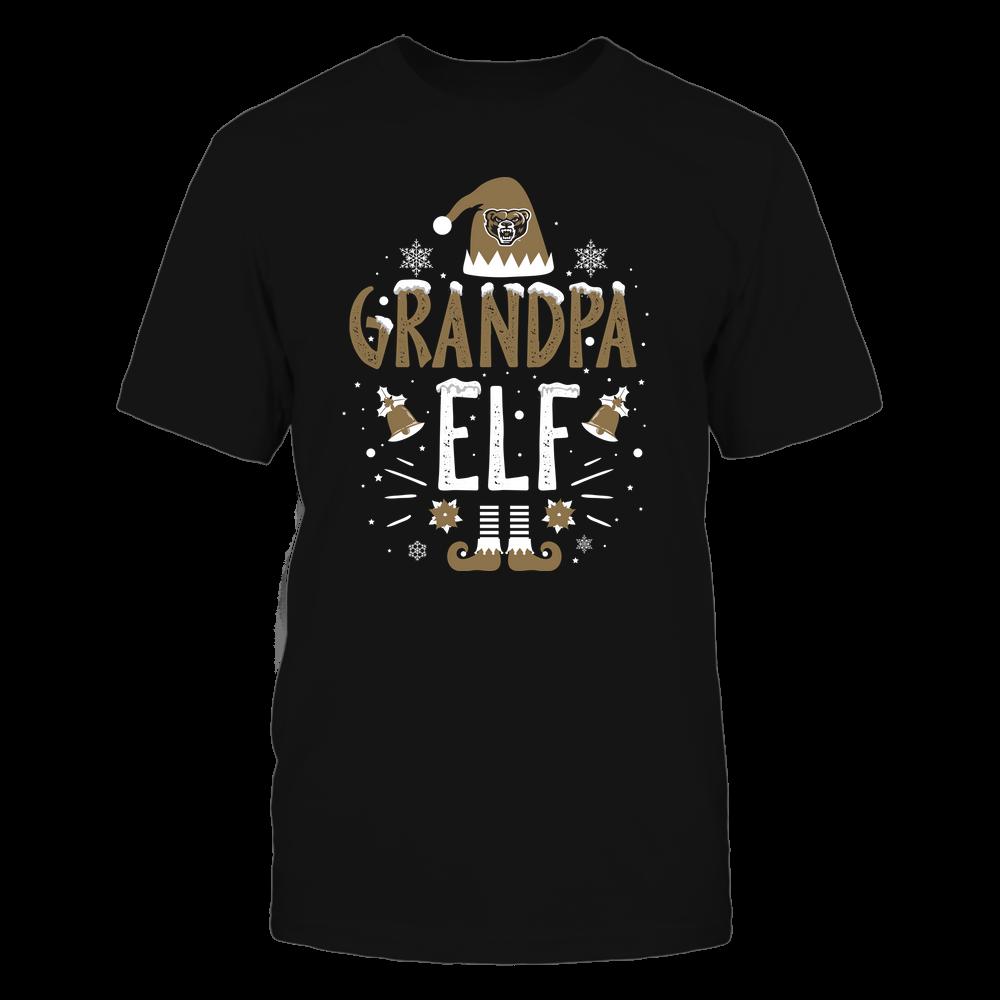Oakland Golden Grizzlies - Christmas - Grandpa Elf - Team Front picture
