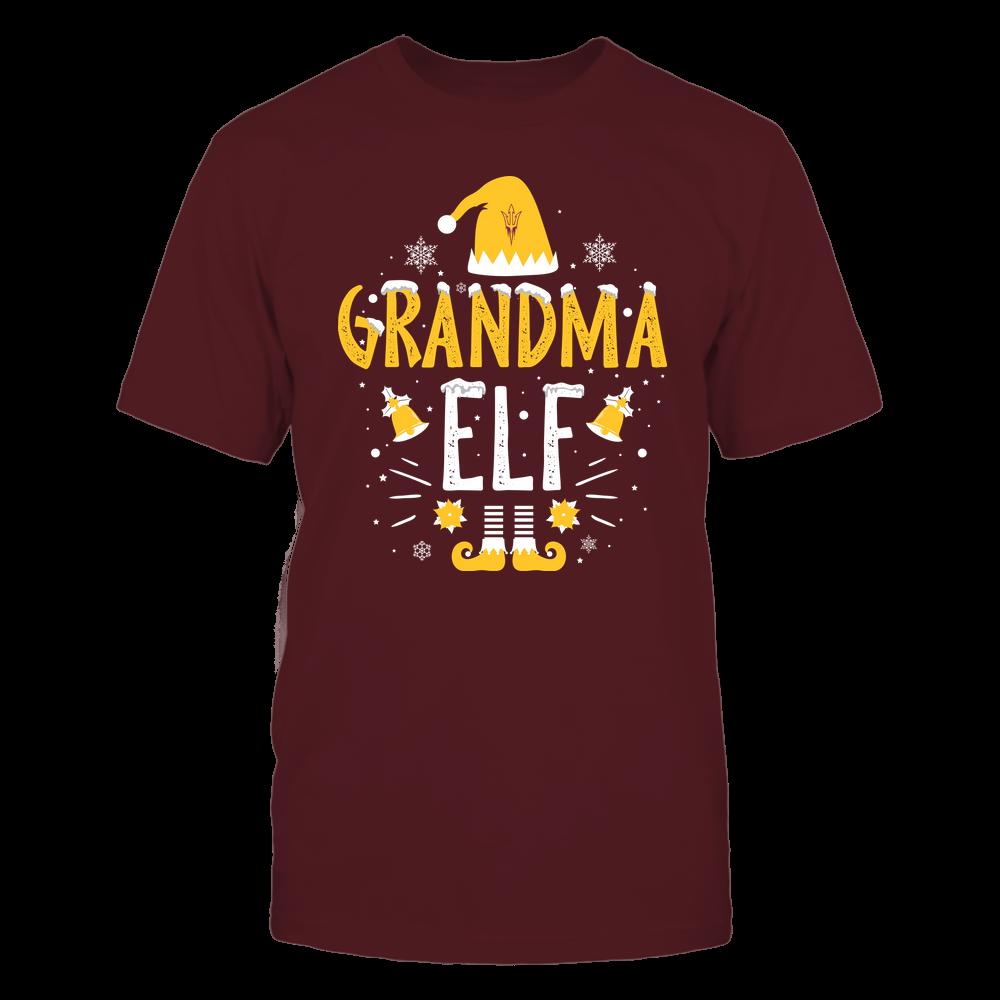 Arizona State Sun Devils - Christmas - Grandma Elf - Team Front picture