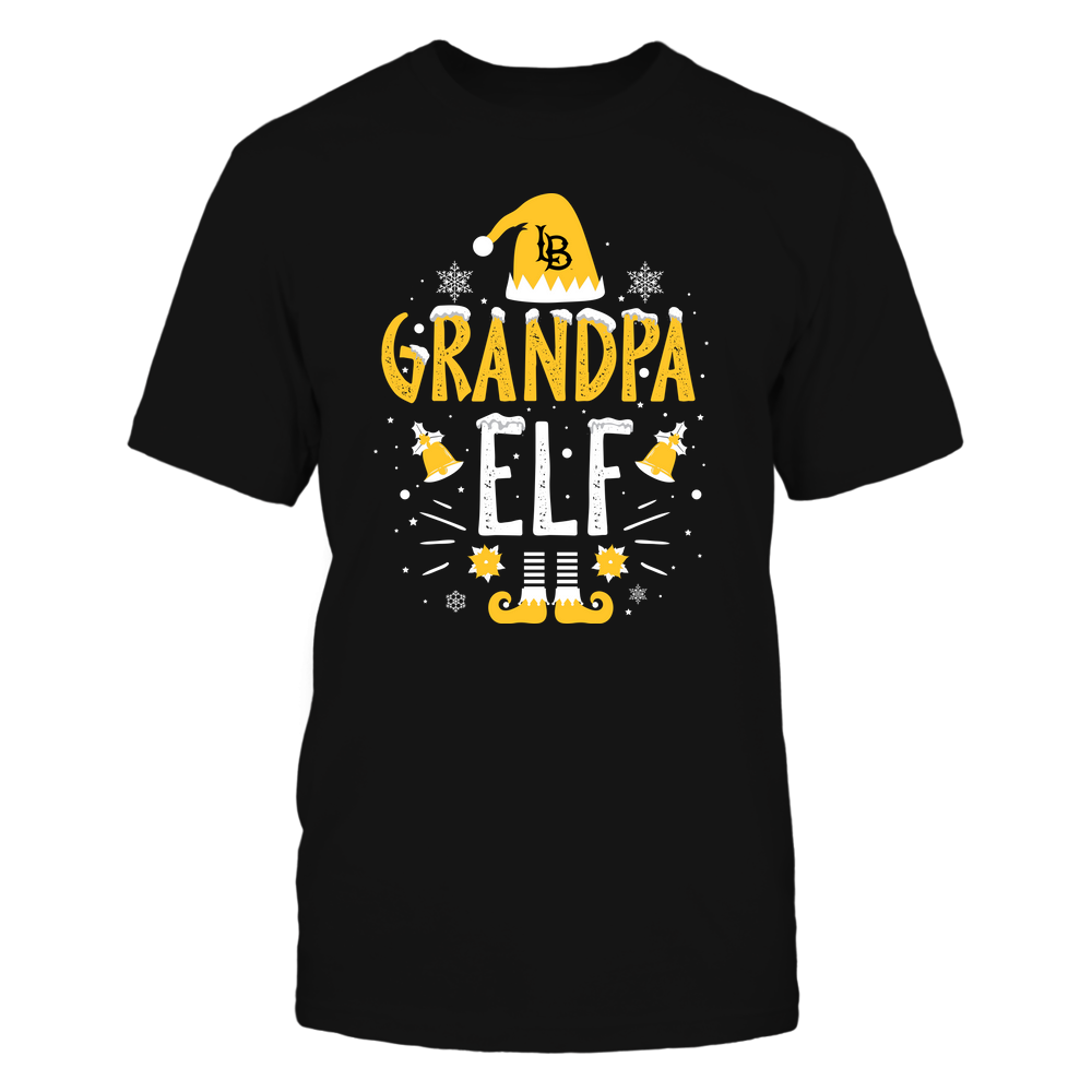 Long Beach State 49ers - Christmas - Grandpa Elf - Team Front picture