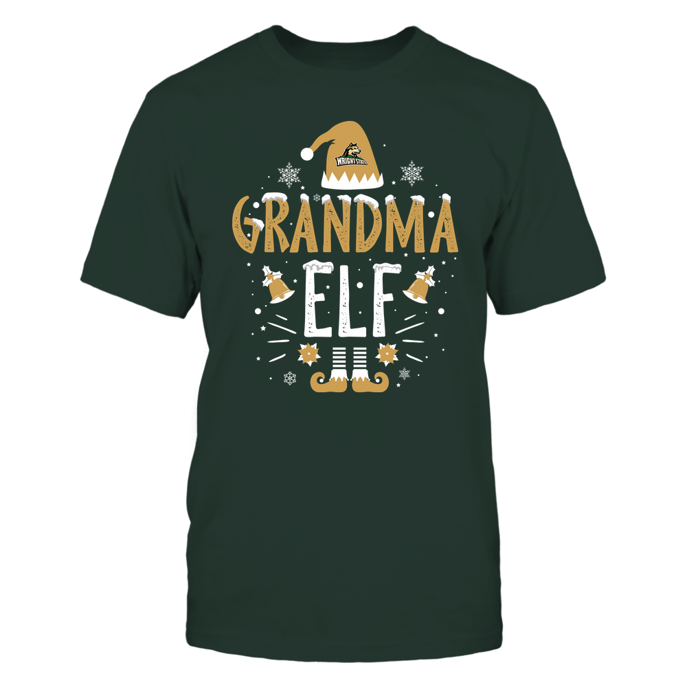 Wright State Raiders - Christmas - Grandma Elf - Team Front picture