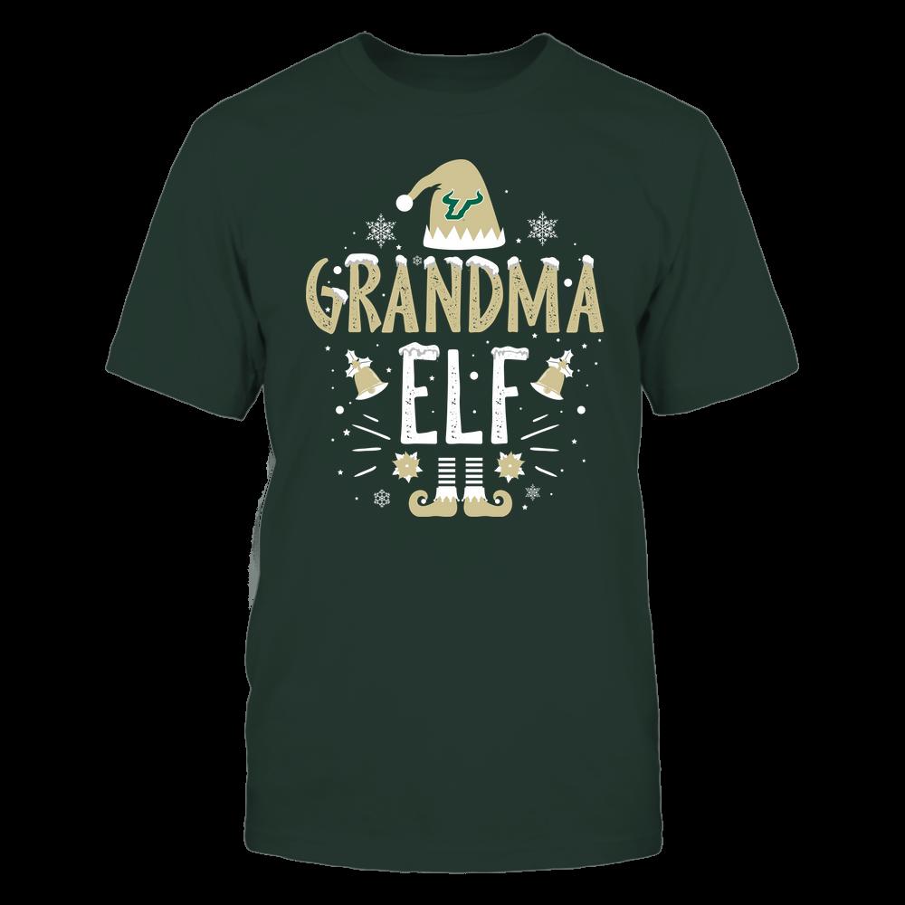 South Florida Bulls - Christmas - Grandma Elf - Team Front picture