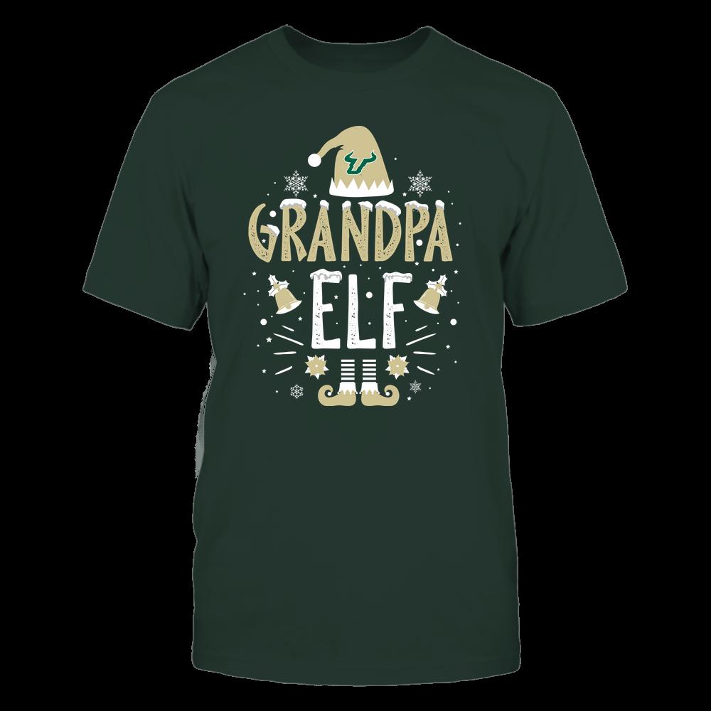 South Florida Bulls - Christmas - Grandpa Elf - Team Front picture