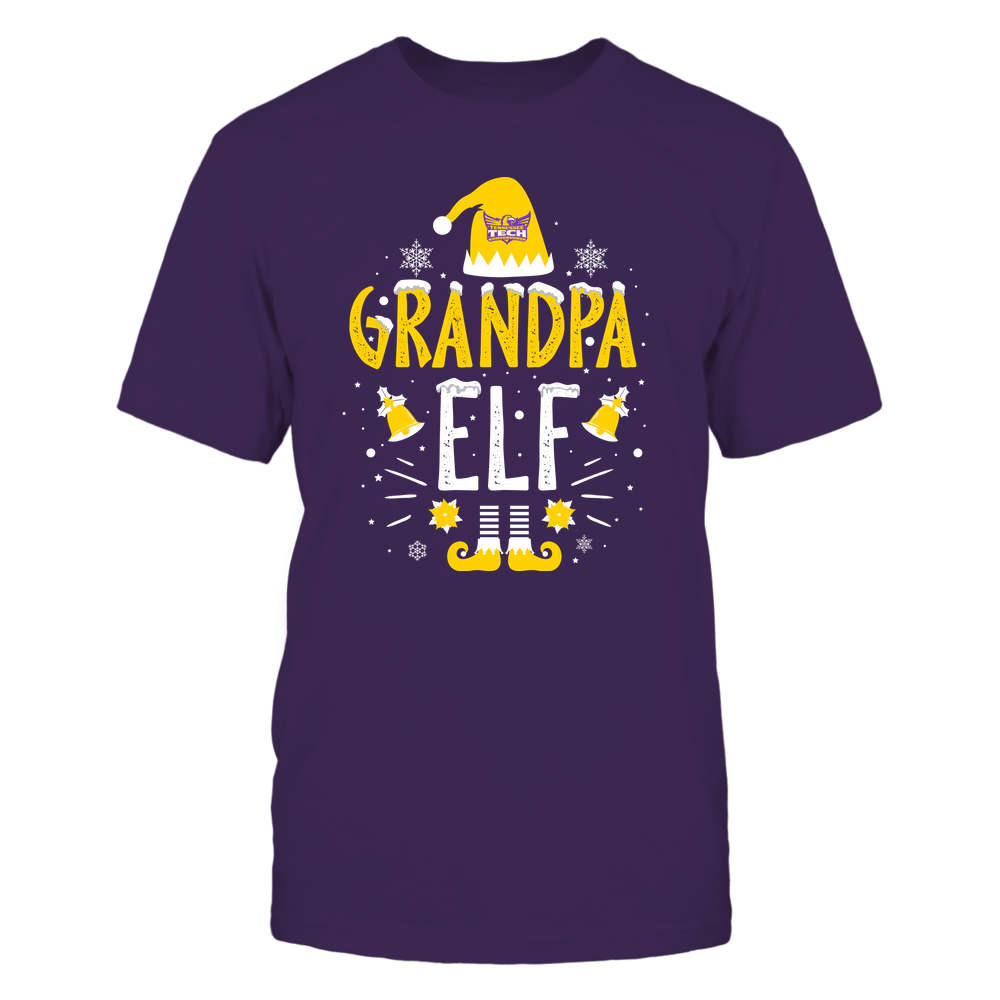 Tennessee Tech Golden Eagles - Christmas - Grandpa Elf - Team Front picture
