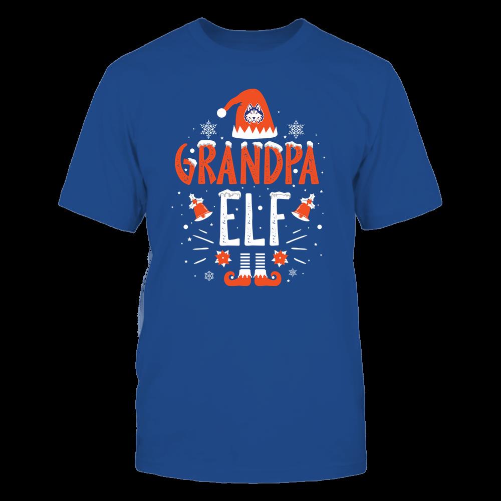 Houston Baptist Huskies - Christmas - Grandpa Elf - Team Front picture
