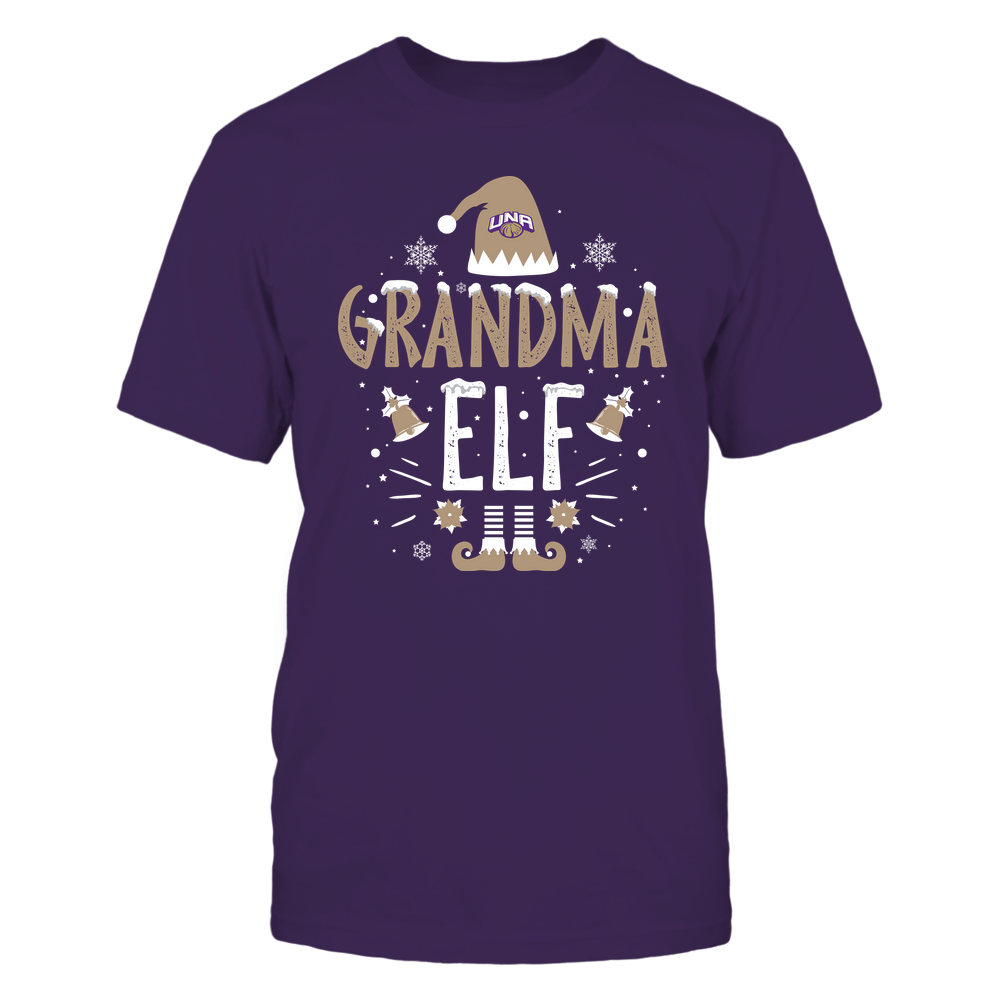North Alabama Lions - Christmas - Grandma Elf - Team Front picture