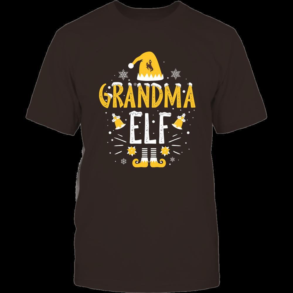 Wyoming Cowboys - Christmas - Grandma Elf - Team Front picture