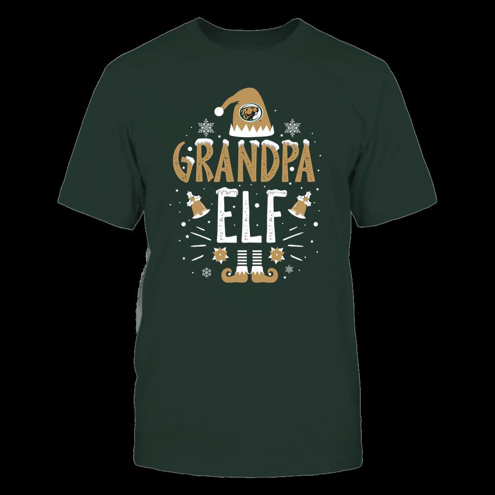 Bemidji State Beavers - Christmas - Grandpa Elf - Team Front picture