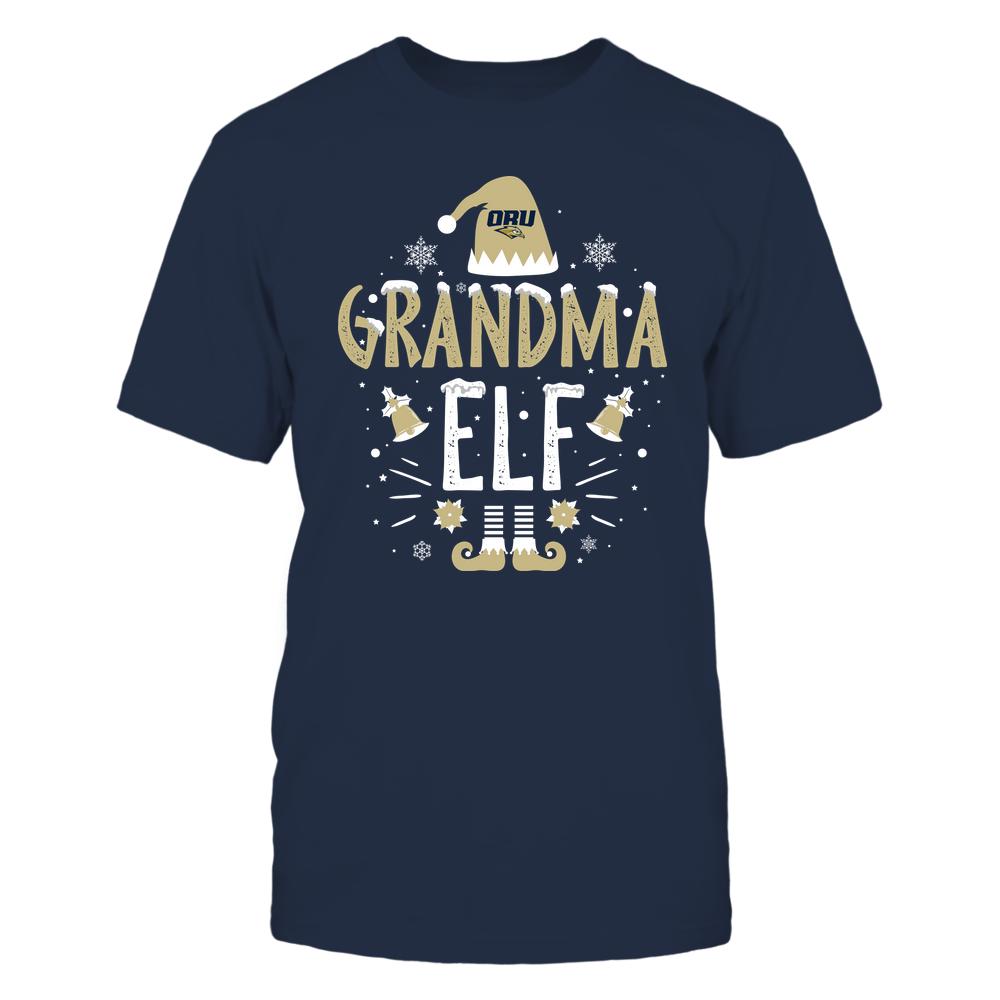 Oral Roberts Golden Eagles - Christmas - Grandma Elf - Team Front picture