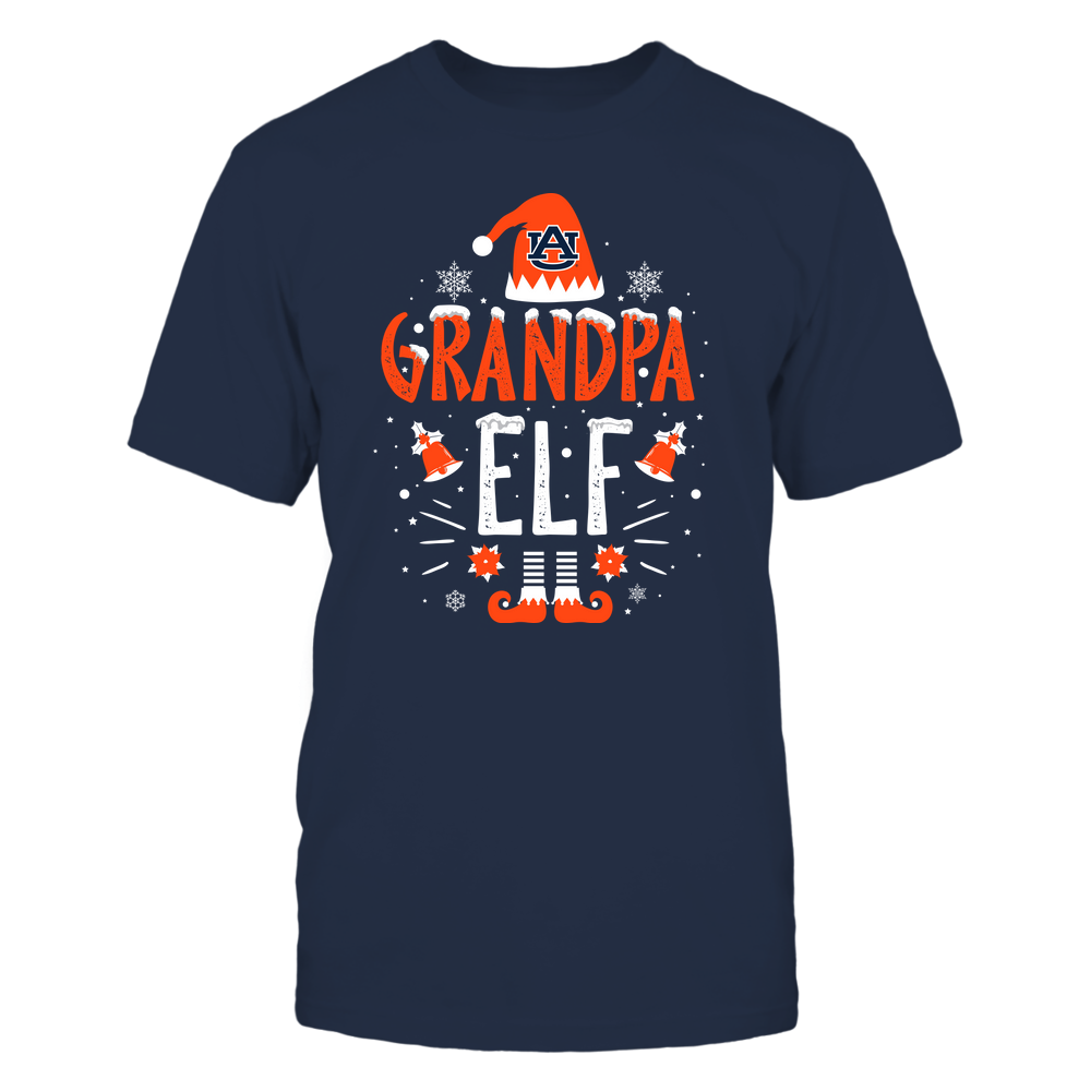 Auburn Tigers - Christmas - Grandpa Elf - Team Front picture
