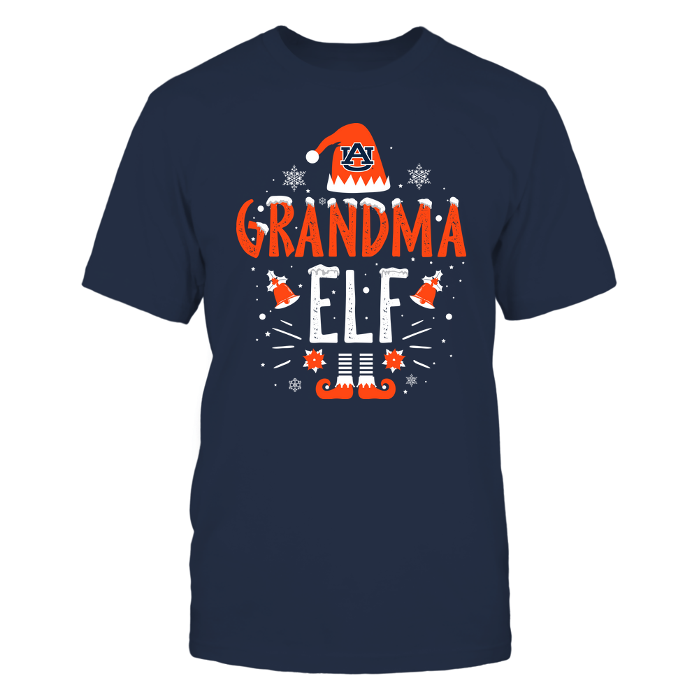 Auburn Tigers - Christmas - Grandma Elf - Team Front picture