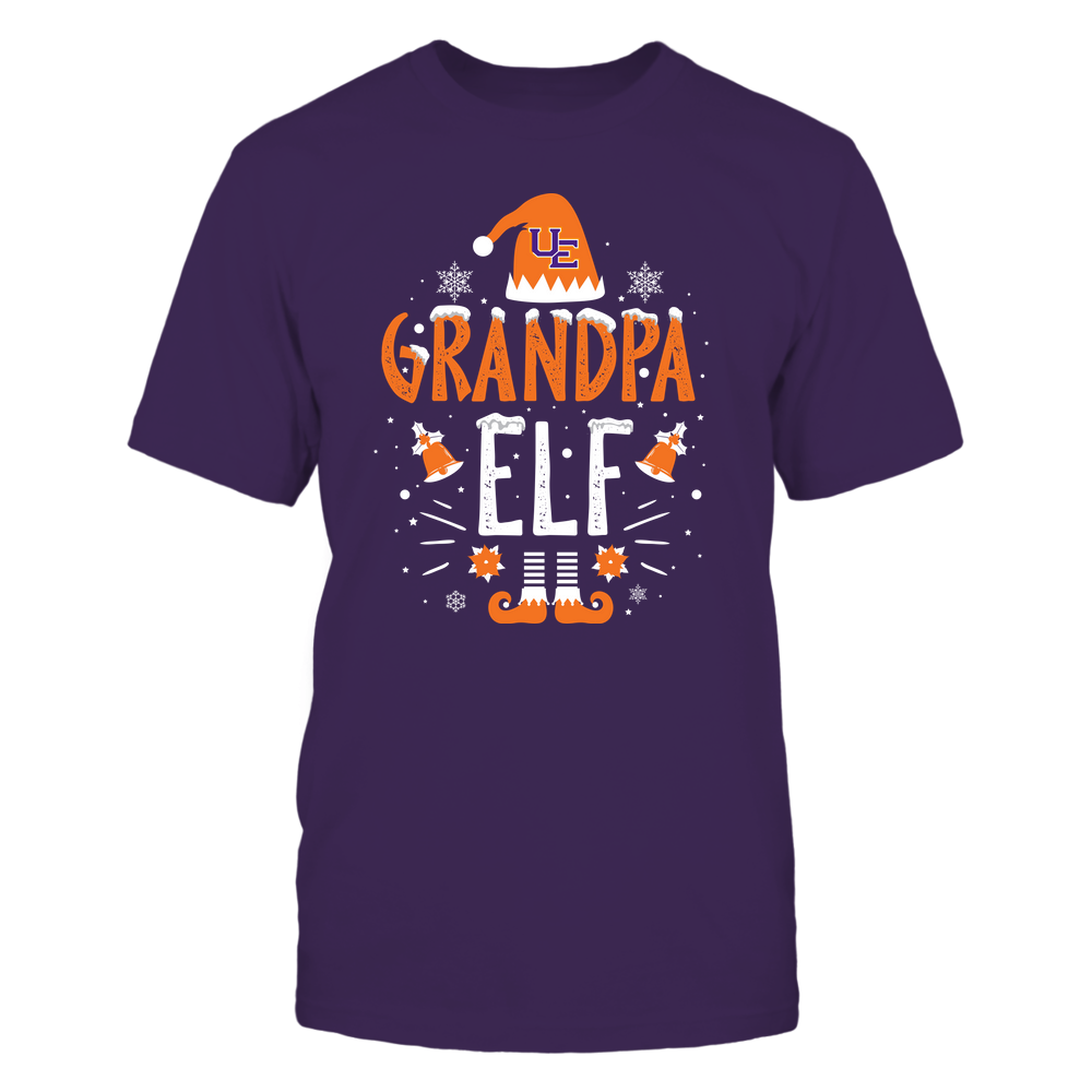 Evansville Purple Aces - Christmas - Grandpa Elf - Team Front picture