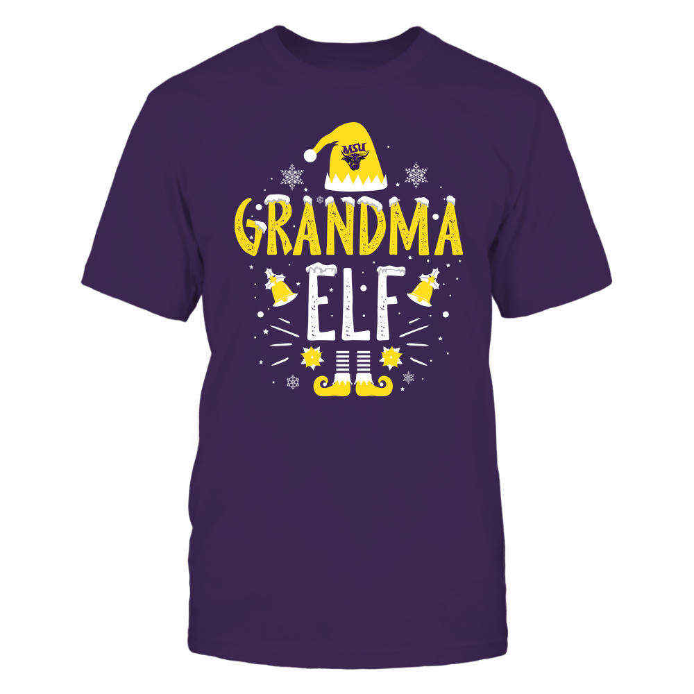 Minnesota State Mavericks - Christmas - Grandma Elf - Team Front picture