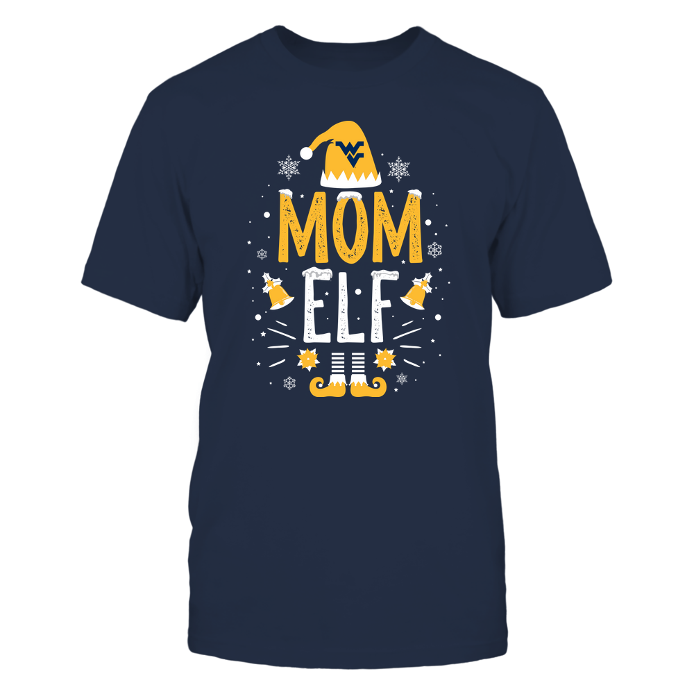West Virginia Mountaineers - Christmas - Mom Elf - Team Front picture