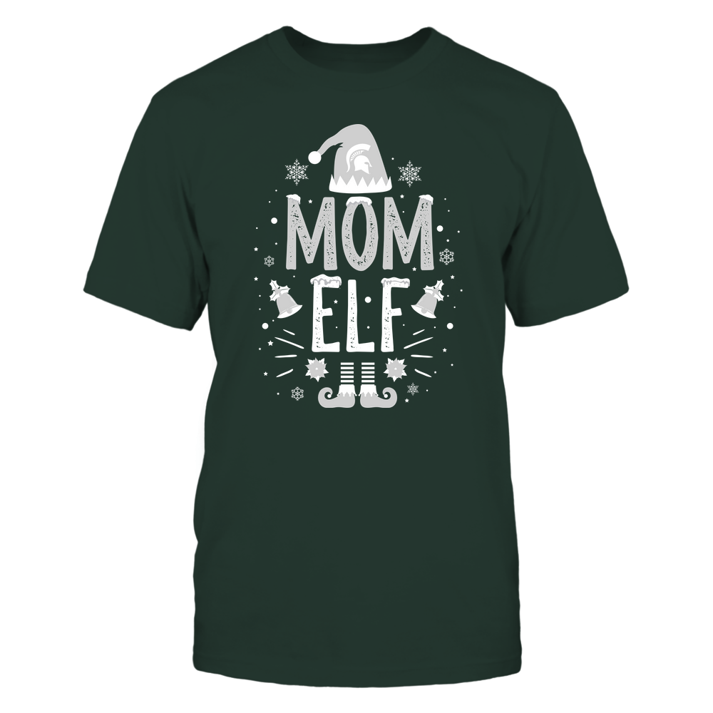 Michigan State Spartans - Christmas - Mom Elf - Team Front picture