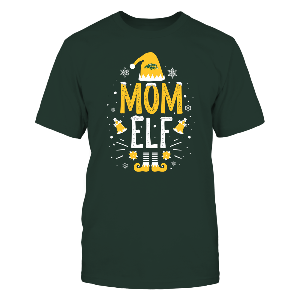 North Dakota State Bison - Christmas - Mom Elf - Team Front picture