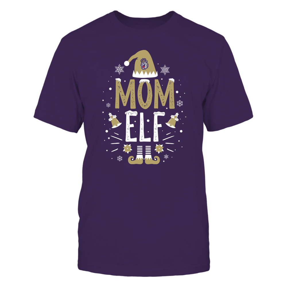 James Madison Dukes - Christmas - Mom Elf - Team Front picture