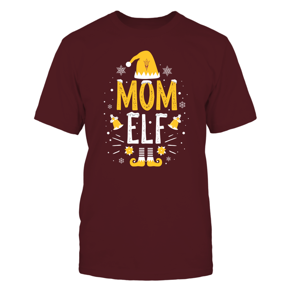 Arizona State Sun Devils - Christmas - Mom Elf - Team Front picture