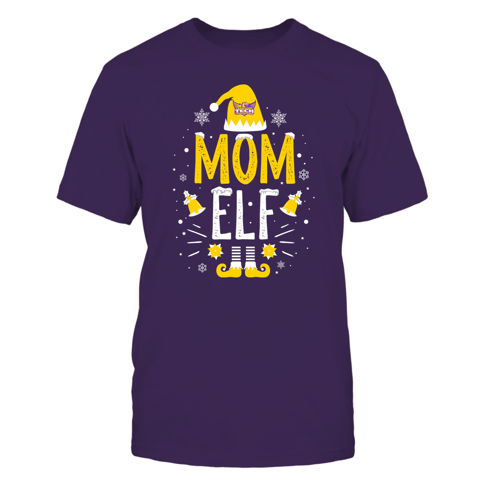 Tennessee Tech Golden Eagles - Christmas - Mom Elf - Team Front picture