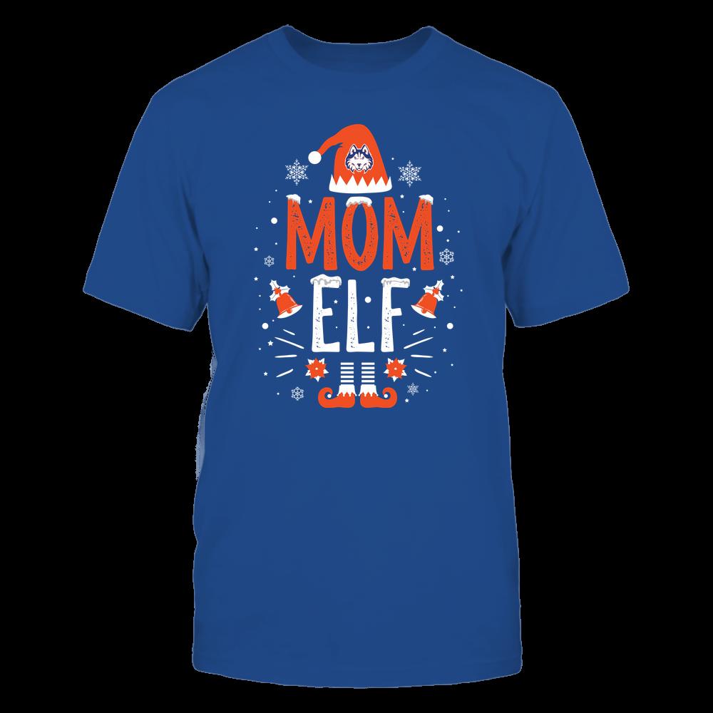 Houston Baptist Huskies - Christmas - Mom Elf - Team Front picture