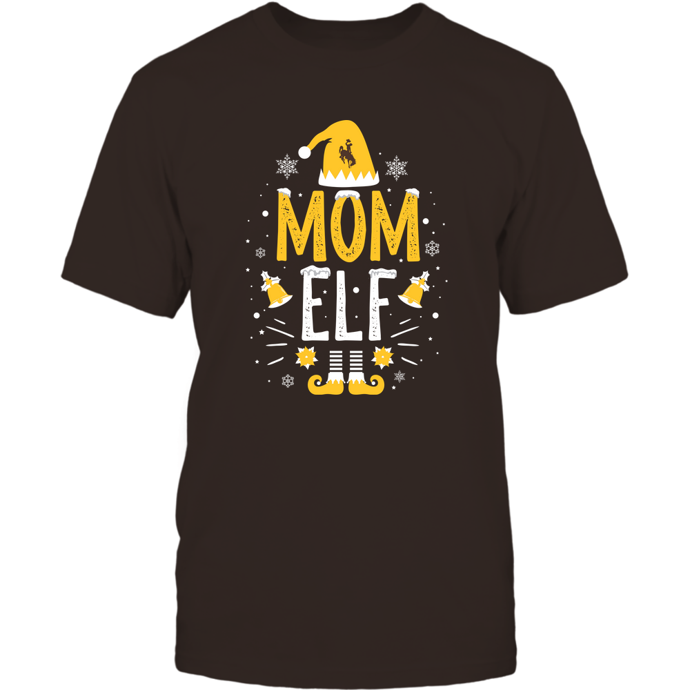 Wyoming Cowboys - Christmas - Mom Elf - Team Front picture