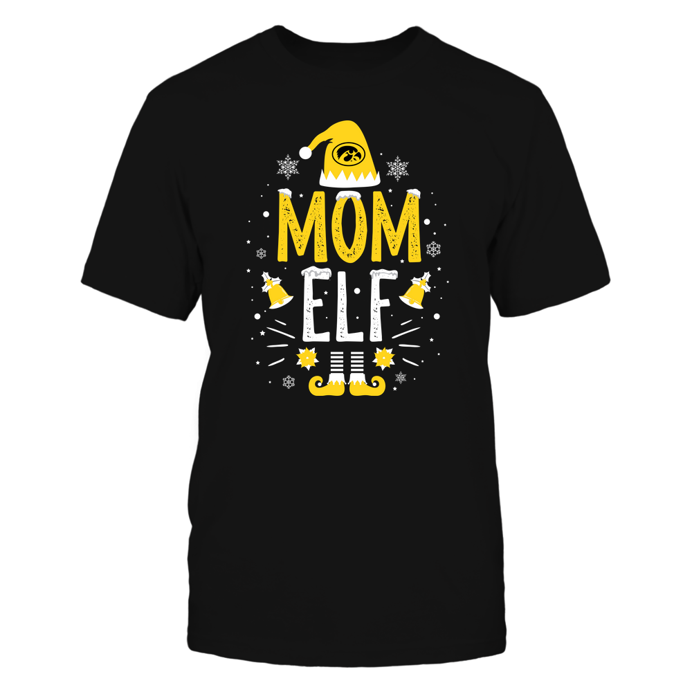 Iowa Hawkeyes - Christmas - Mom Elf - Team Front picture