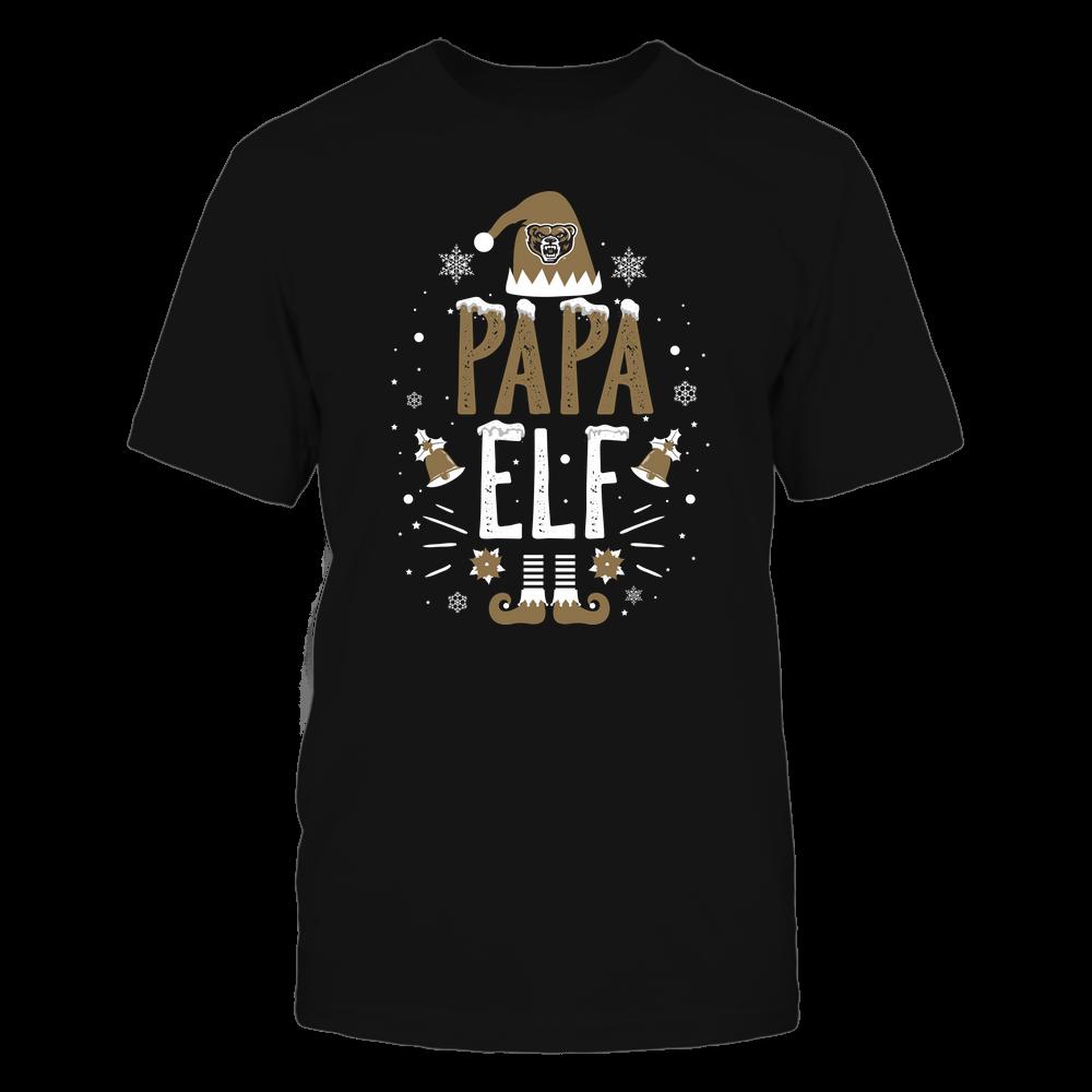 Oakland Golden Grizzlies - Christmas - Papa Elf - Team Front picture