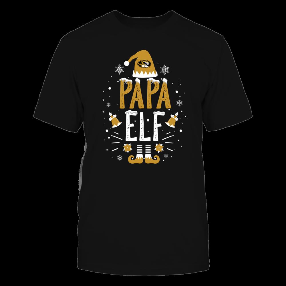 Mizzou Tigers - Christmas - Papa Elf - Team Front picture