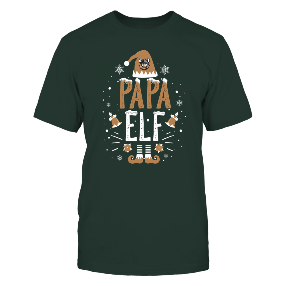 Cleveland State Vikings - Christmas - Papa Elf - Team Front picture