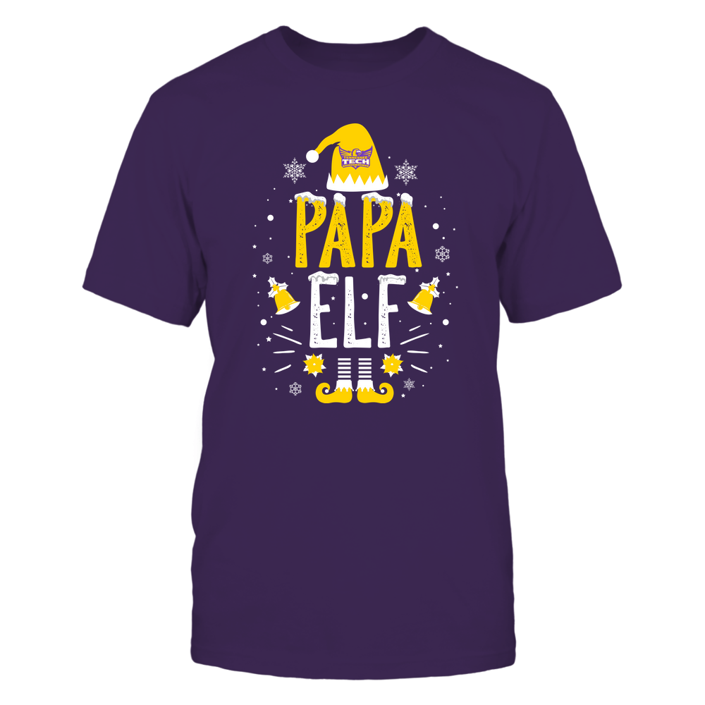 Tennessee Tech Golden Eagles - Christmas - Papa Elf - Team Front picture