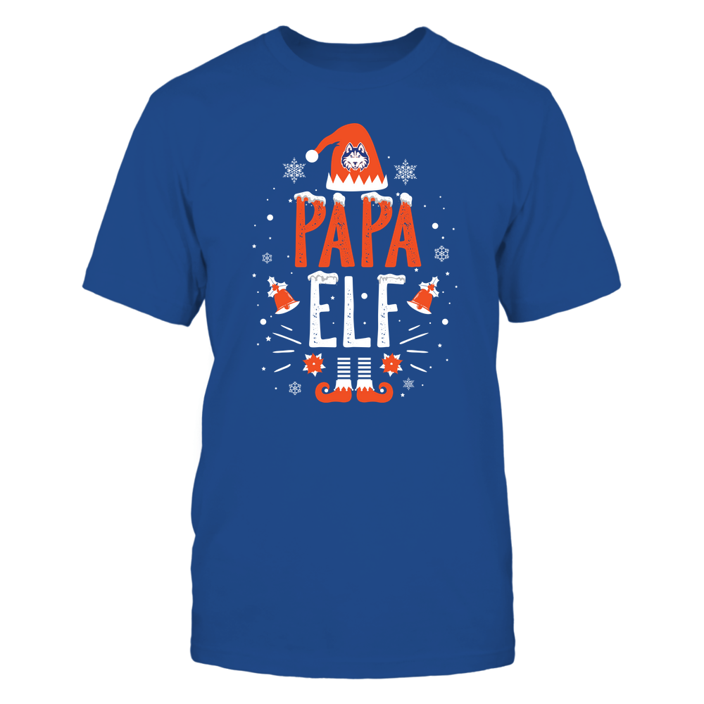 Houston Baptist Huskies - Christmas - Papa Elf - Team Front picture