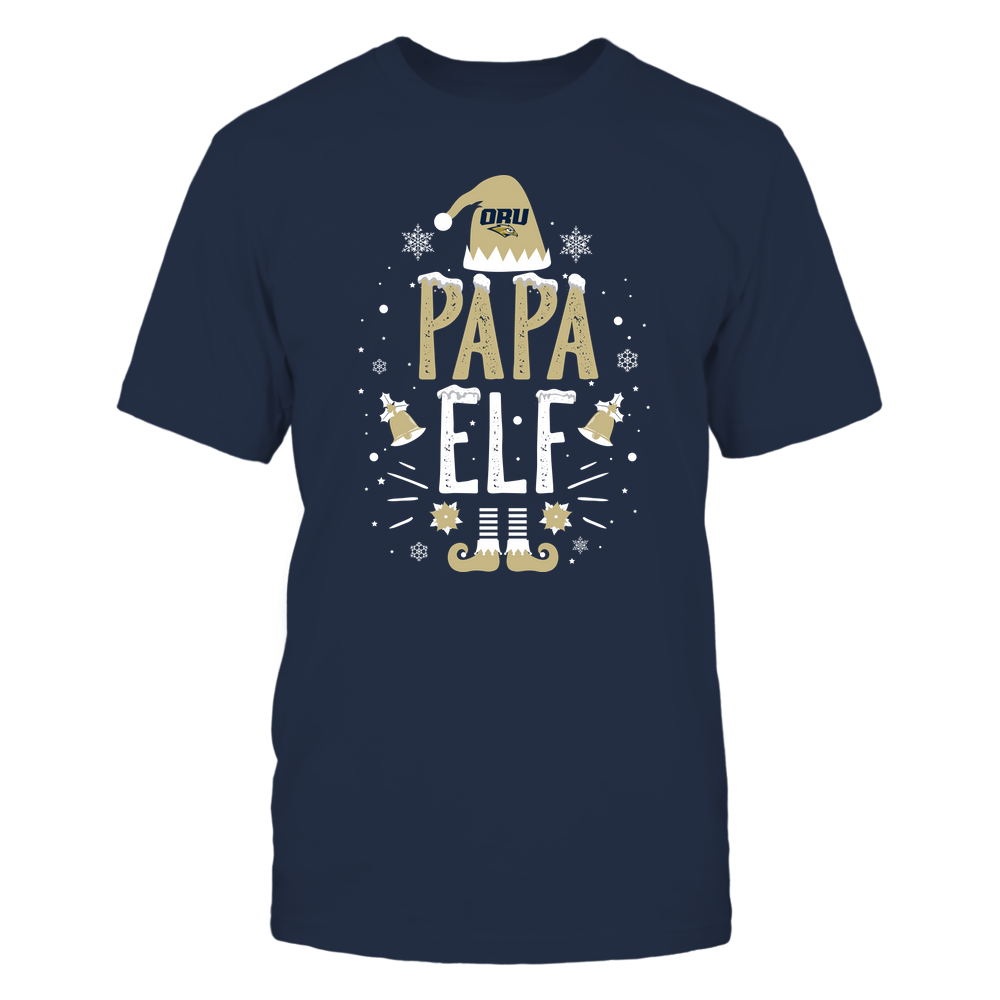 Oral Roberts Golden Eagles - Christmas - Papa Elf - Team Front picture