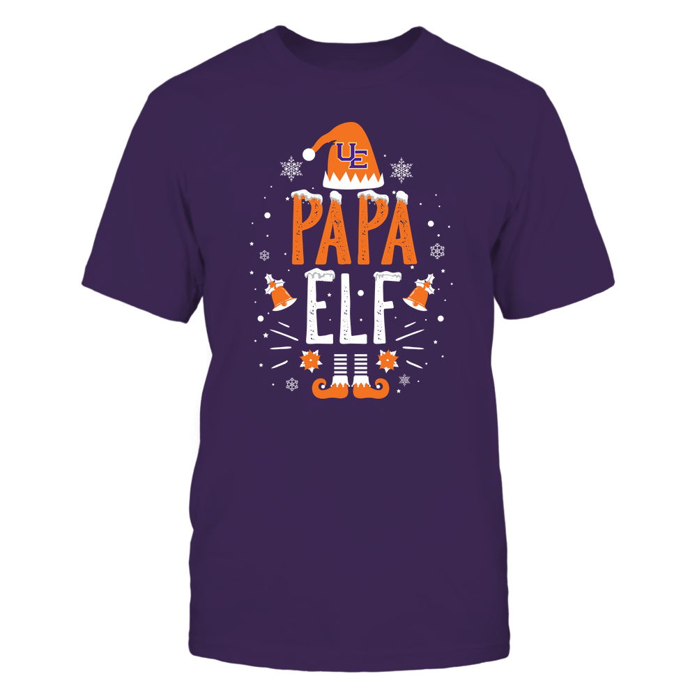 Evansville Purple Aces - Christmas - Papa Elf - Team Front picture