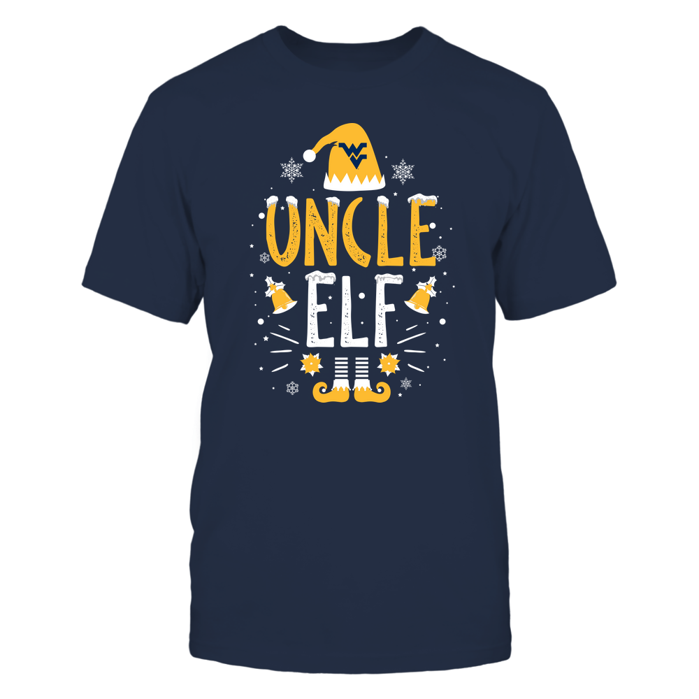 West Virginia Mountaineers - Christmas - Uncle Elf - Team Front picture