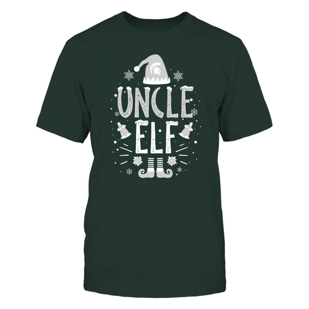 Michigan State Spartans - Christmas - Uncle Elf - Team Front picture