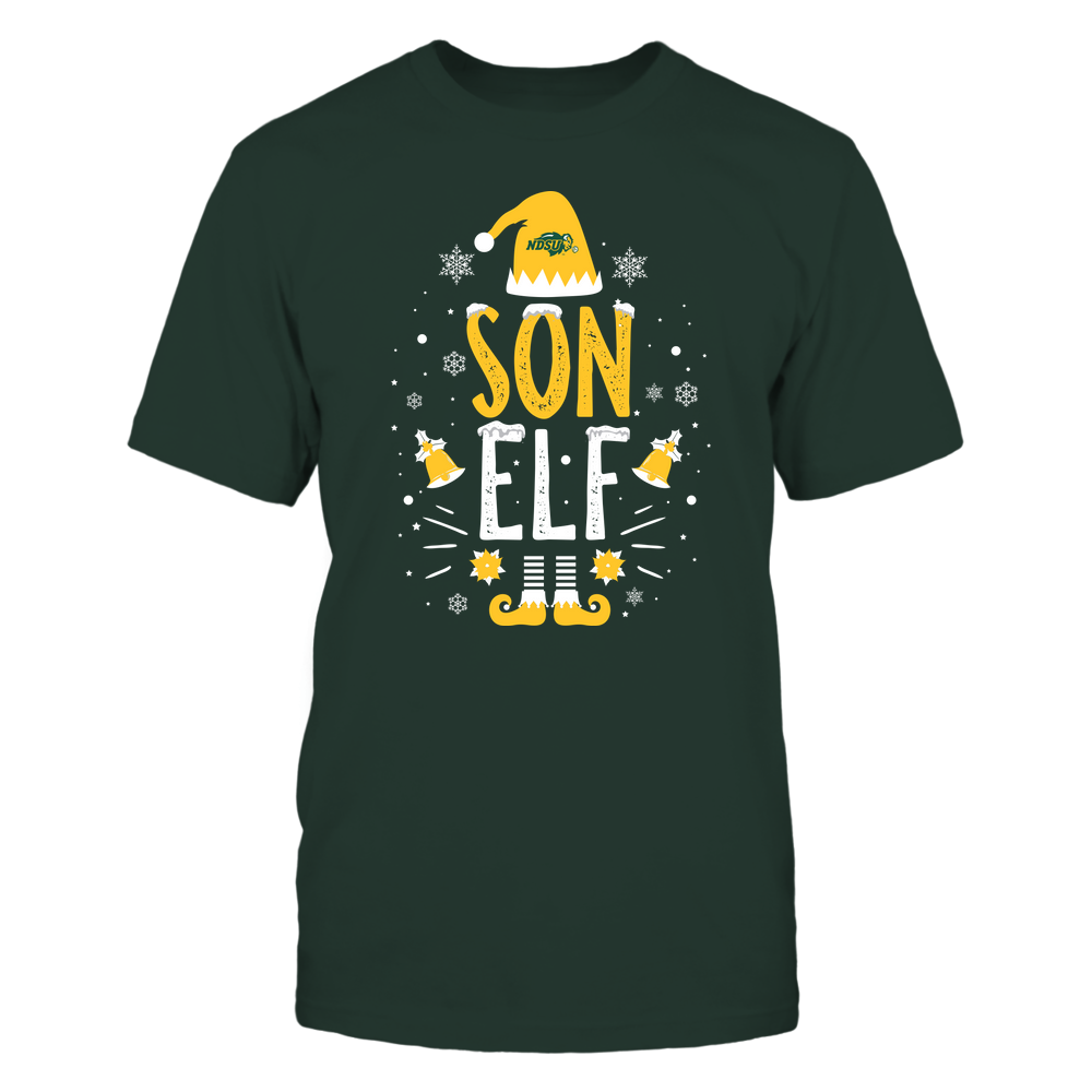 North Dakota State Bison - Christmas - Son Elf - Team Front picture